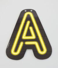 Letterslinger Letter-A Neon