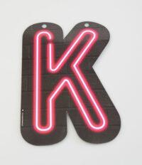 Letterslinger Letter-K Neon