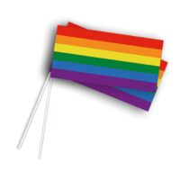 Vlaggetje Papier Regenboog