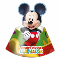 Kinderfeest Mickey Mouse Feesthoedjes 6st