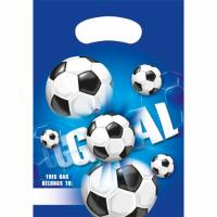 Kinderfeest Voetbal Feestzakjes 6st