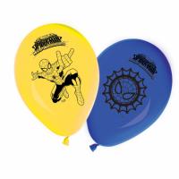 """Kinderfeest Spiderman Ballonnen 6st 11"""""""