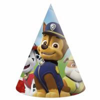 Kinderfeest Paw Patrol Feesthoedjes 6st