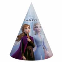 Kinderfeest Frozen II Feesthoedjes 6st