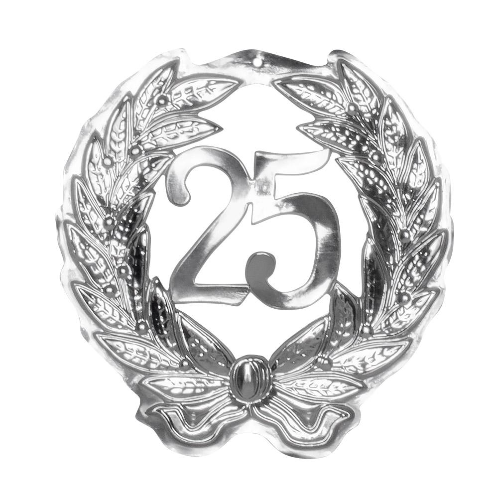 Jubileum Krans '25' Zilver 42cm
