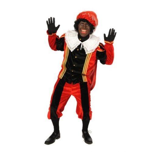 Kostuum Zwarte Piet Luxe