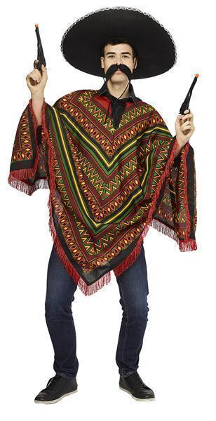 Mexicaanse Poncho One Size