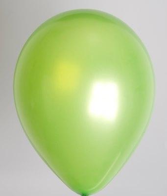 """100st Pearl Ballonnen 14"""" Groen-535"""
