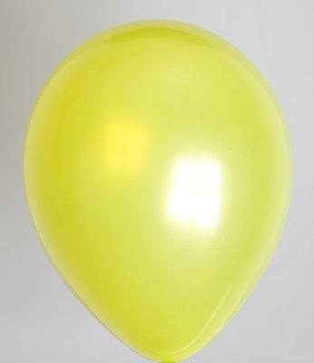 """100st Pearl Ballonnen 14"""" Lime-036"""