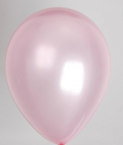 """100st Pearl Ballonnen 14"""" Roze-073"""