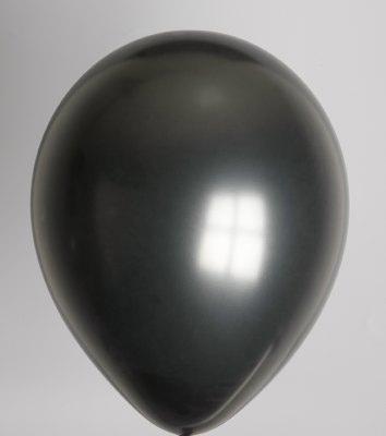 """100st Pearl Ballonnen 14"""" Zwart-030"""