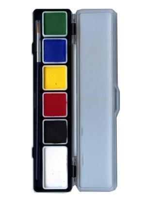 Aqua Schminkpalet 6kleuren Regulier