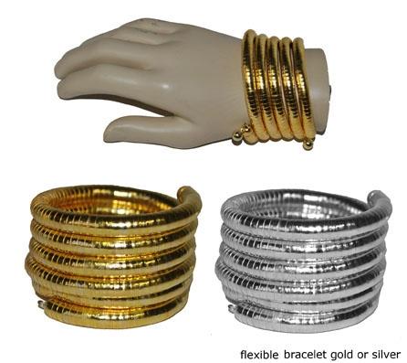 Armband Cleopatra Zilver Metaal