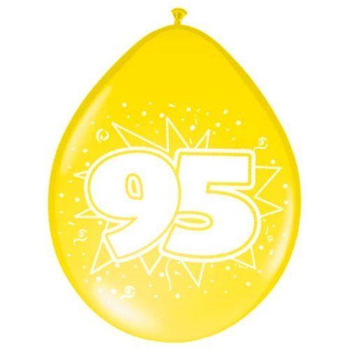 8st Ballonnen Hoera 95 jaar