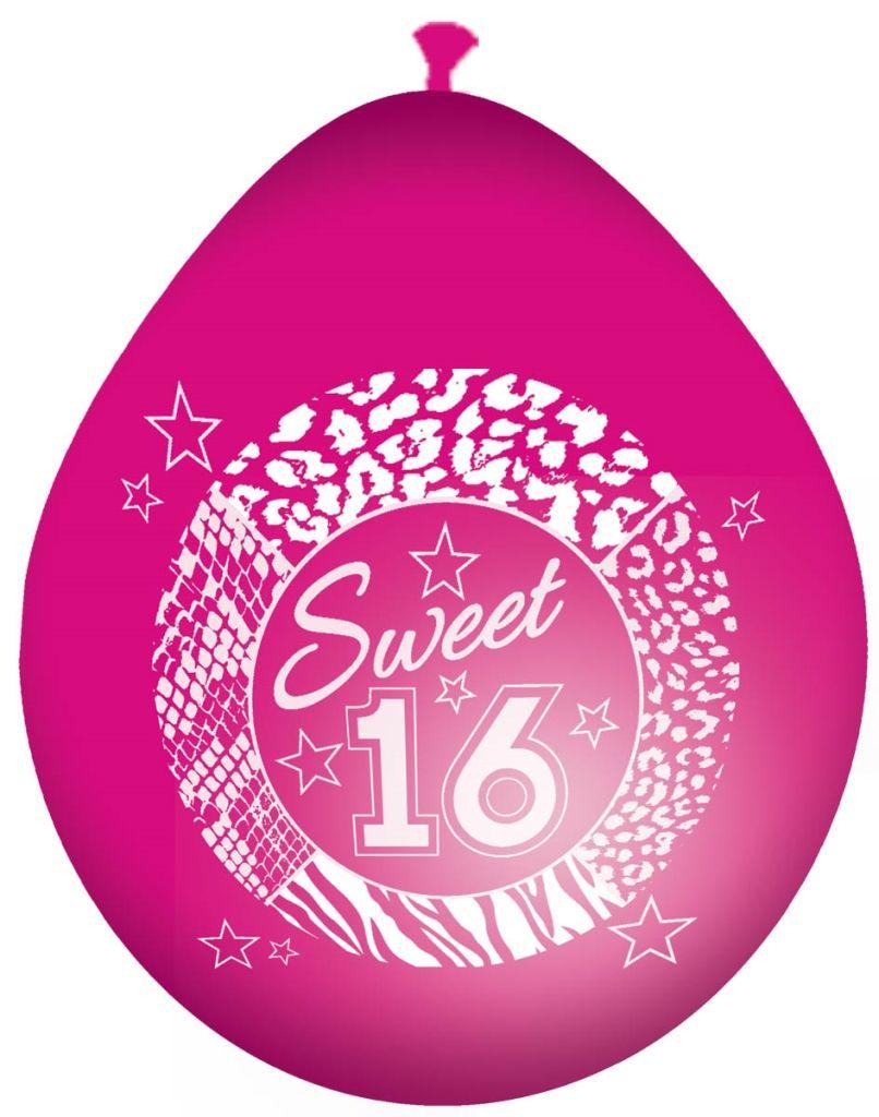 8st Ballonnen Sweet 16