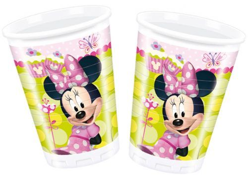 8st Bekers Minnie Mouse 200ml