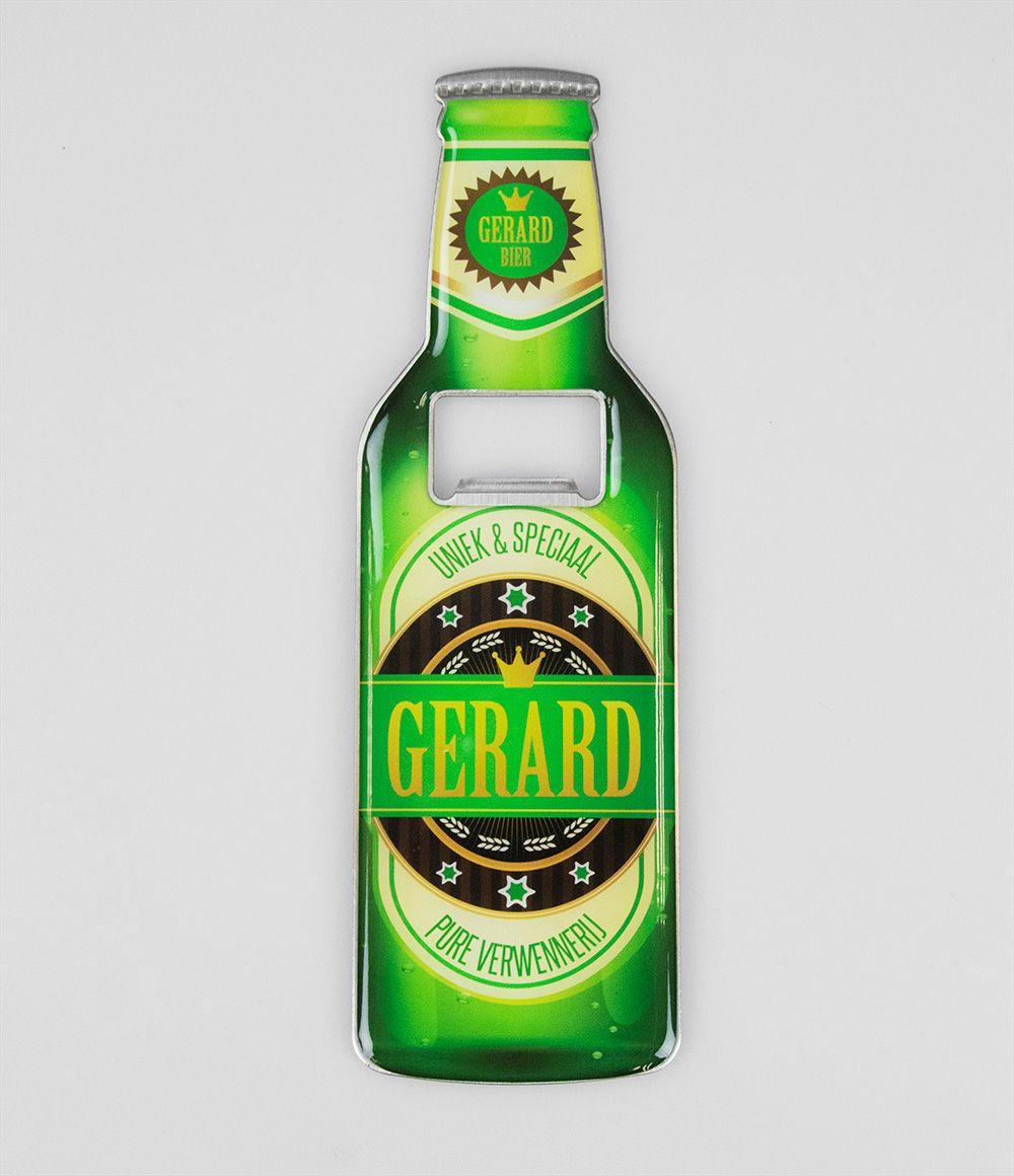Bieropener Magneet Gerard