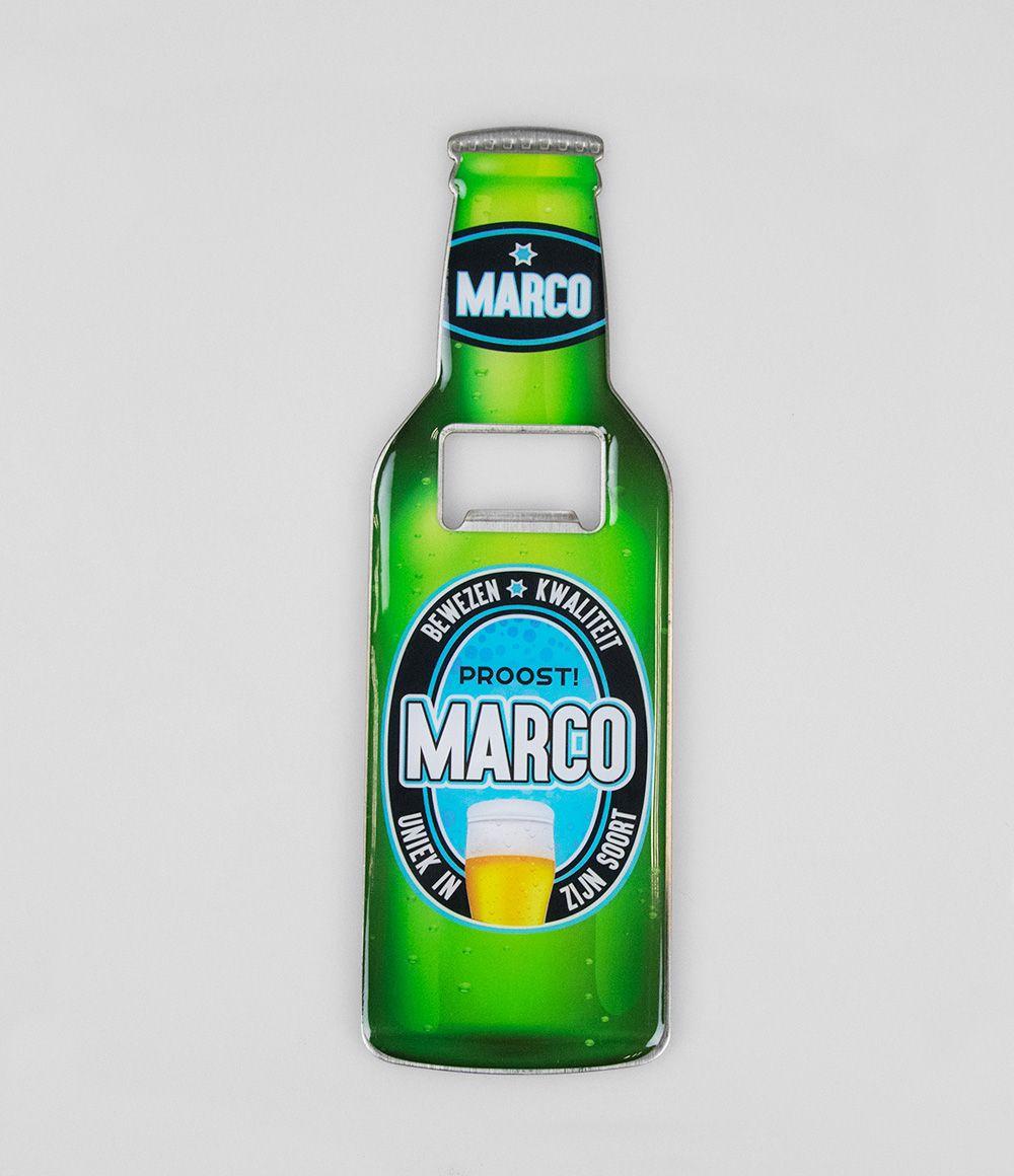 Bieropener Magneet Marco