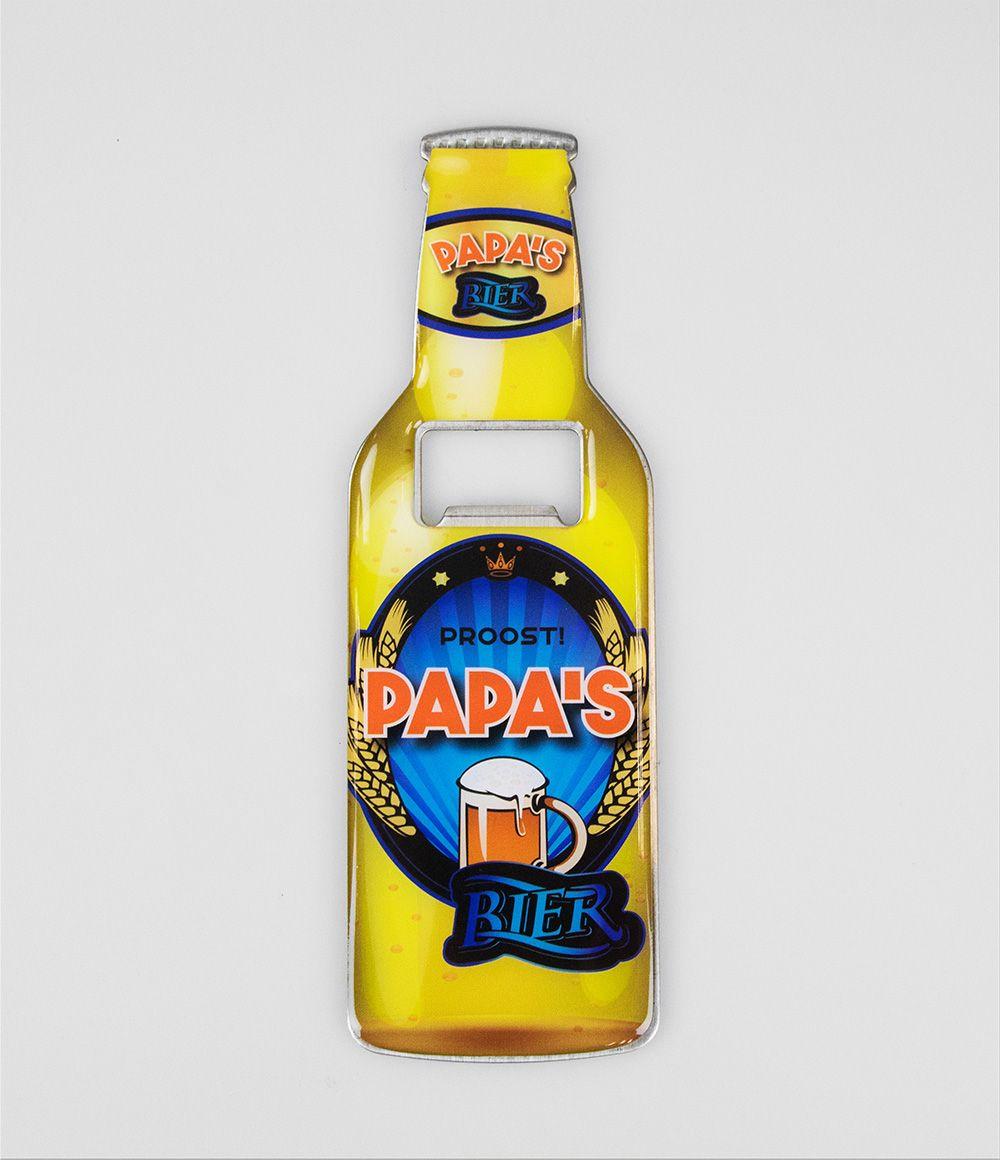 Bieropener Magneet Papa