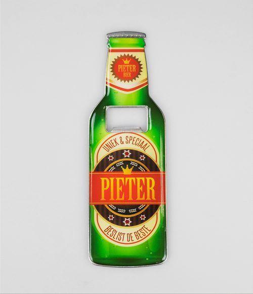 Bieropener Magneet Pieter