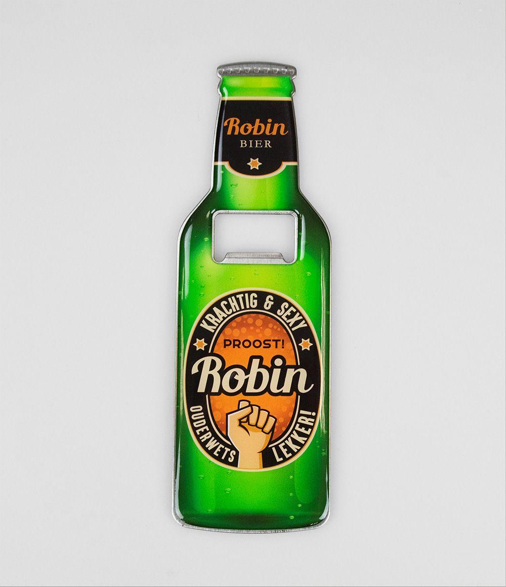 Bieropener Magneet Robin