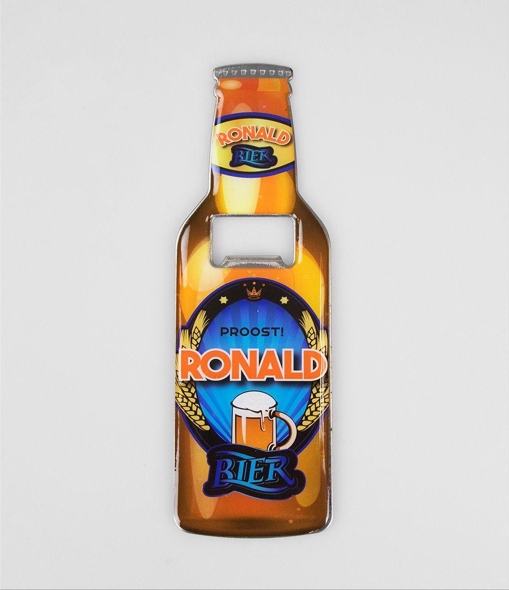 Bieropener Magneet Ronald