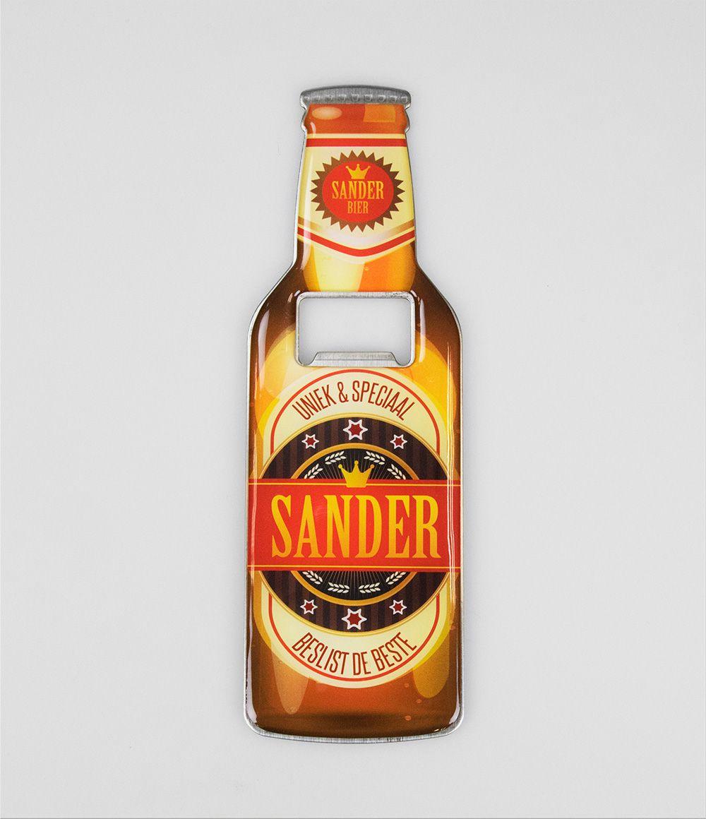 Bieropener Magneet Sander