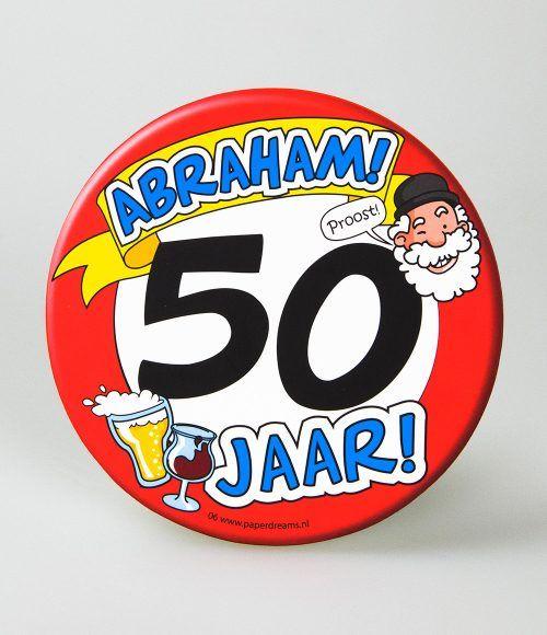 6st Bierviltjes 06-50 jaar Abraham