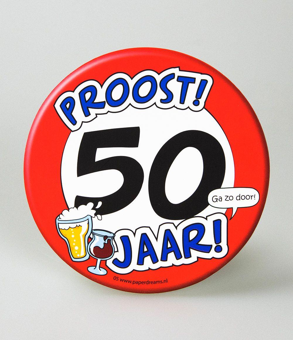 6st Bierviltjes 05-Hoera 50 jaar