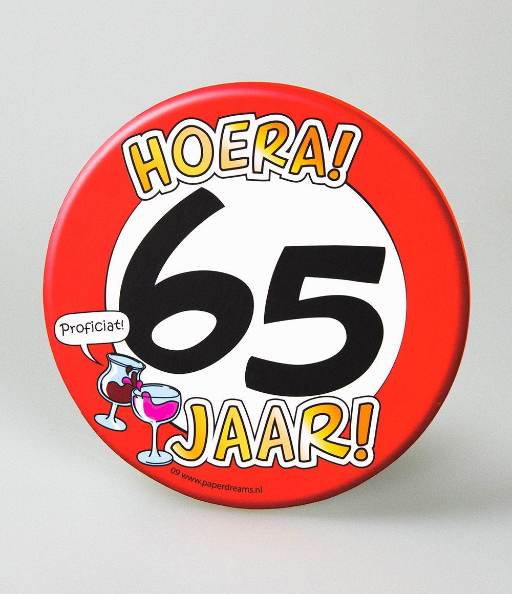6st Bierviltjes 09-Hoera 65 jaar