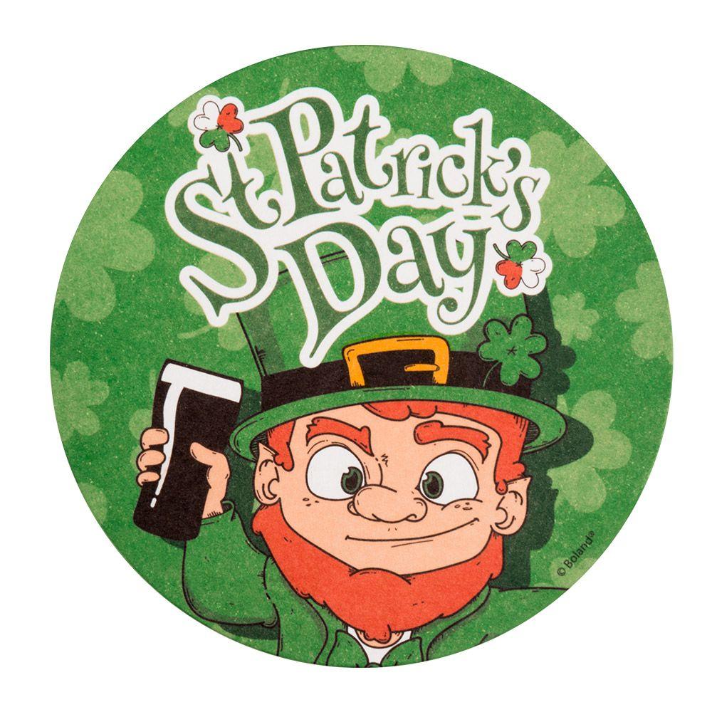 10st Bierviltjes St.Patrick's Day 10cm