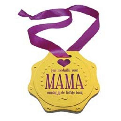 Boek;Een medaille voor Mama