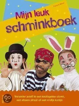 Boek;Mijn leuk Schminkboek