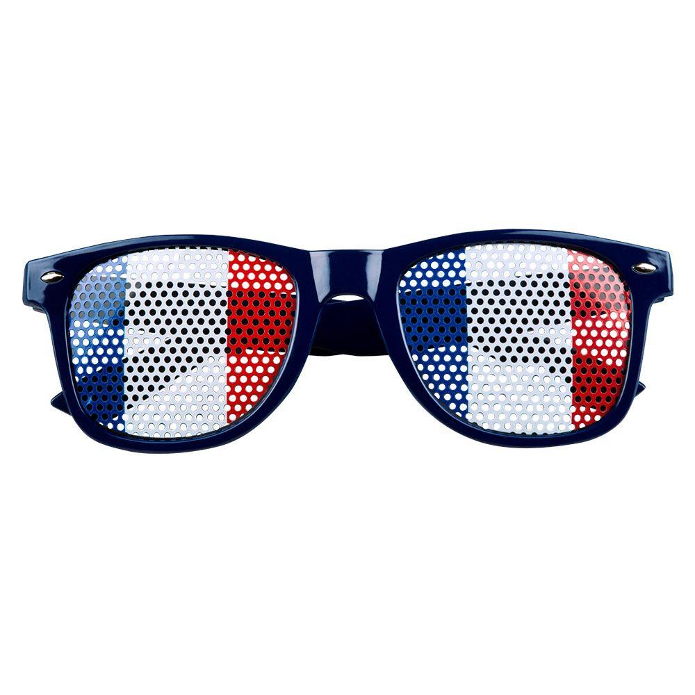 Bril Frankrijk Blauw/Wit/Rood