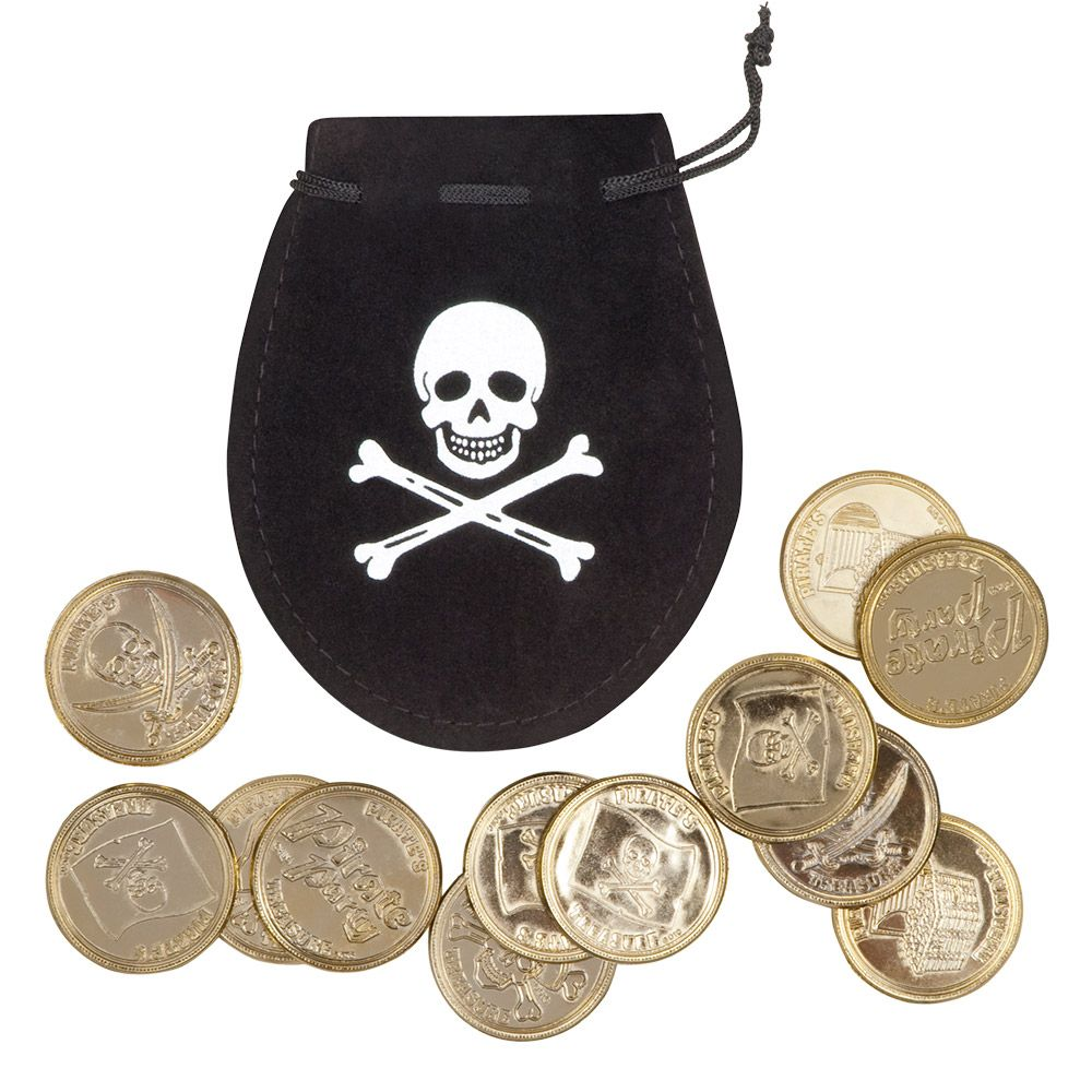 Buideltje met Piratenmunten