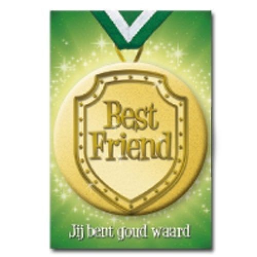 Button Card Best Friend
