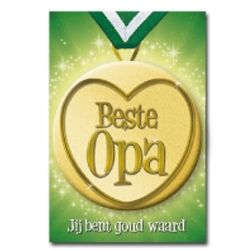 Button Card Beste Opa