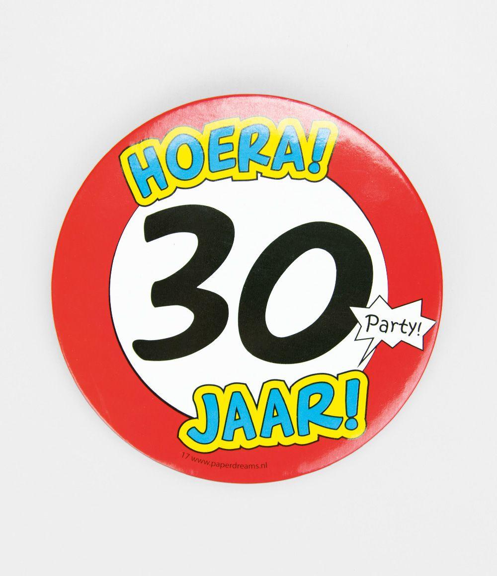 Button XL 30 jaar