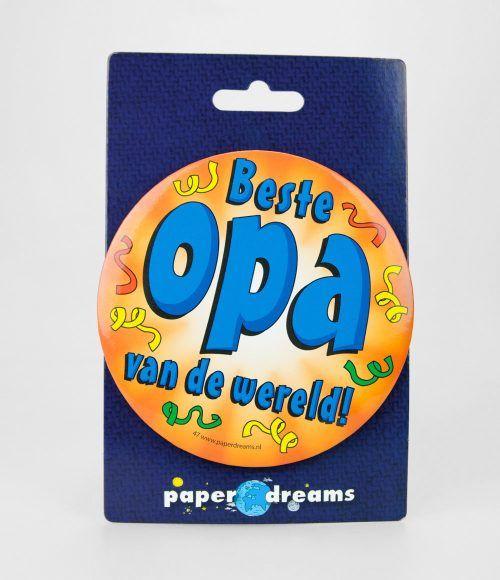 Button XL Beste Opa