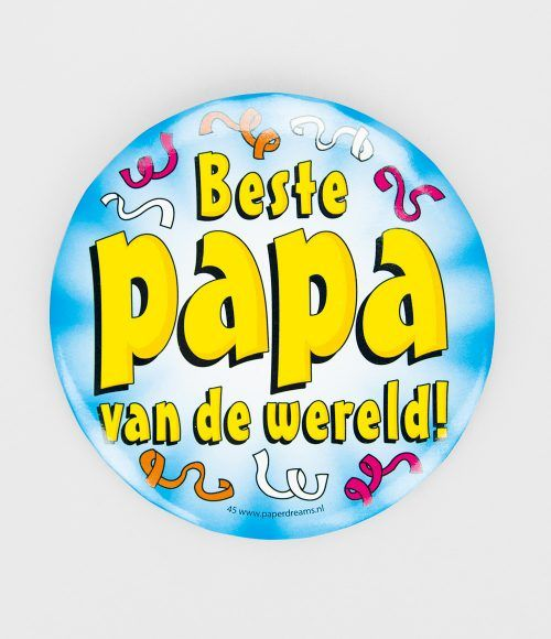 Button XL Beste papa