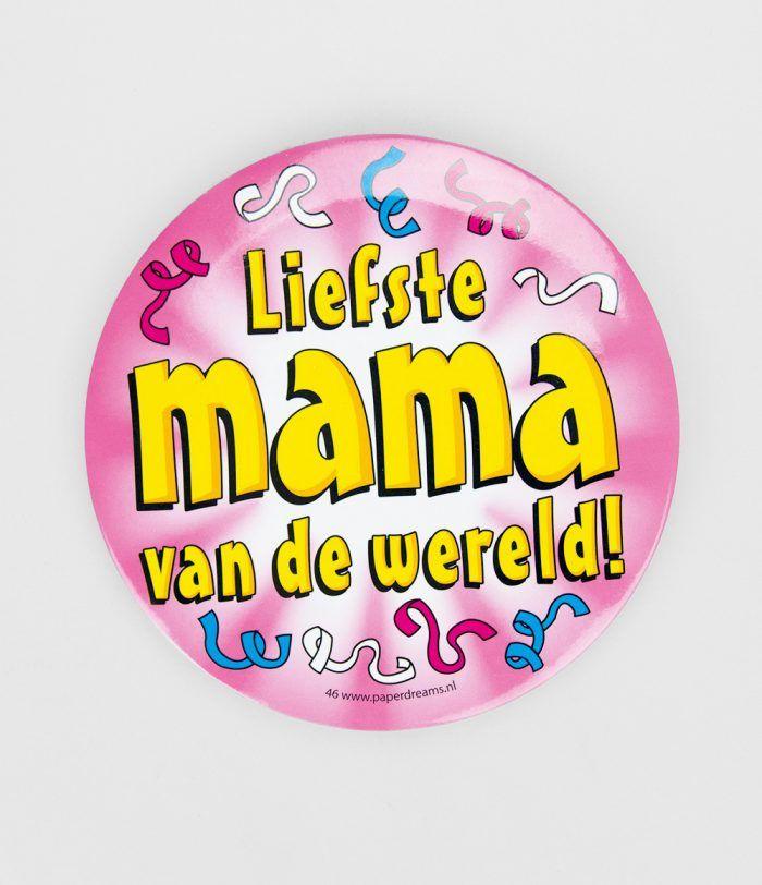 Button XL Liefste mama