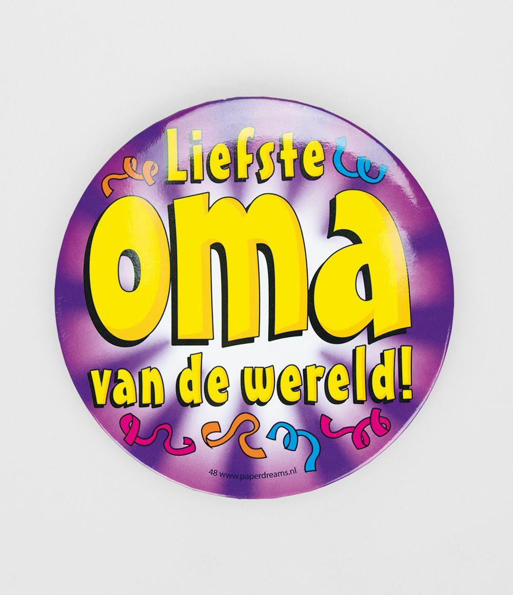 Button XL Liefste oma