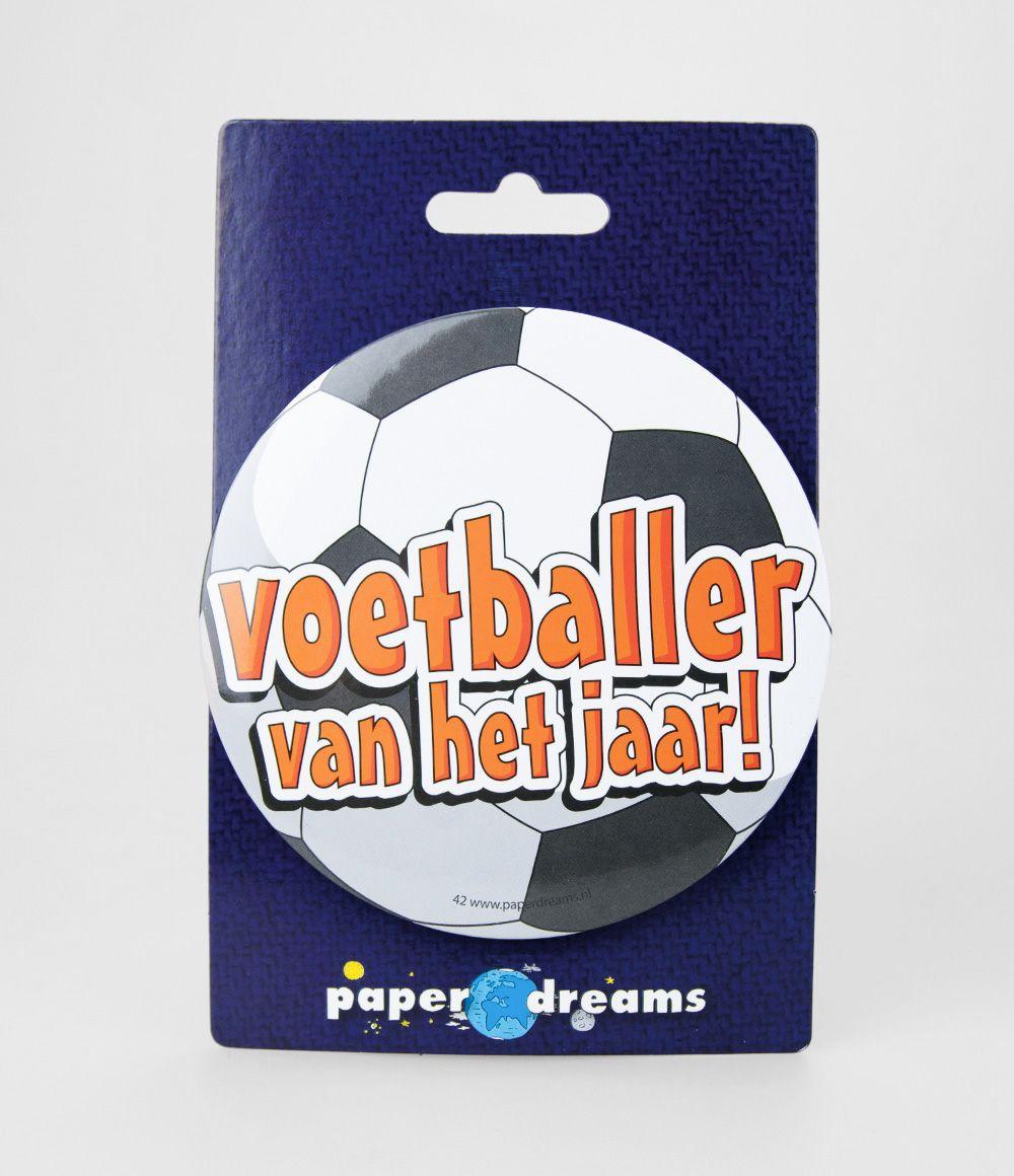 Button XL Voetballer