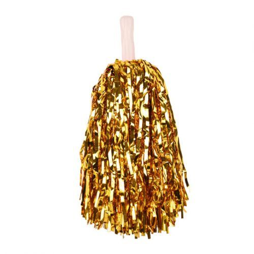 Cheerball Pompom Stick Goud