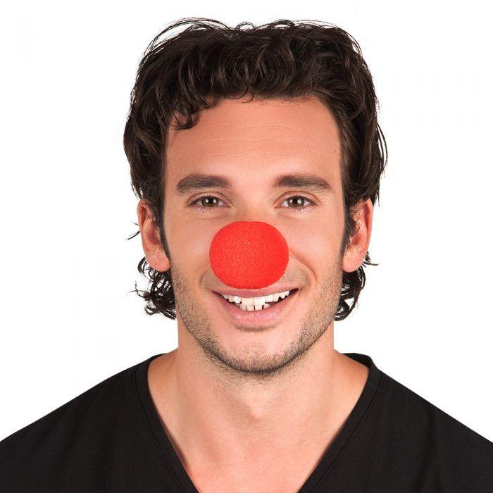 Clownsneus Schuim Rood