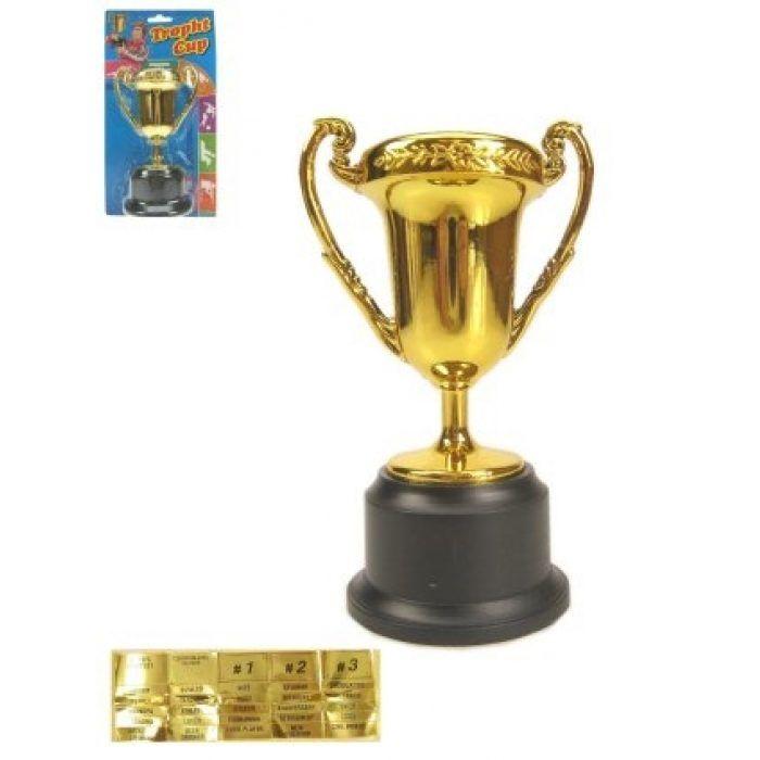 Cup/Beker Goud of Zilver met Stickers