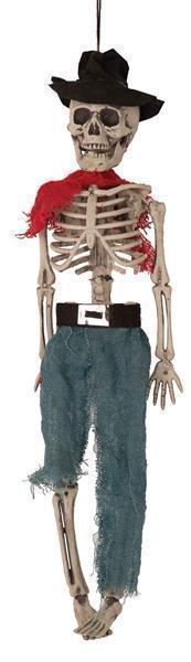 Decoratie Skelet Western 40cm