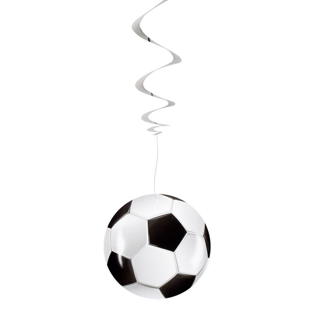 3st Decoratiespiralen Voetbal 85cm
