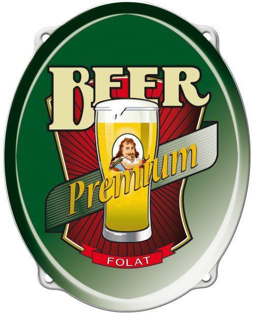 Deurbord Bierfeest Schild 43cm