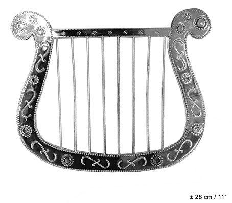 Engelen Harp Zilver
